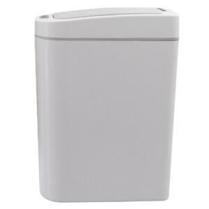 papelera con sensor blanca